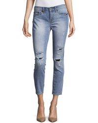 Jean Shop - Patty Cropped High-rise Skinny Jeans - Lyst