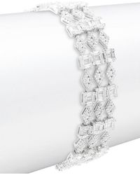 Saks Fifth Avenue - Crystal Link Bracelet - Lyst