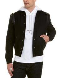 Saint Laurent - Teddy Wool-blend Jacket - Lyst