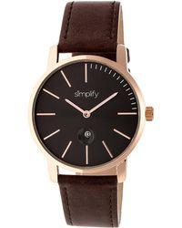 Simplify - Unisex The 4700 Watch - Lyst