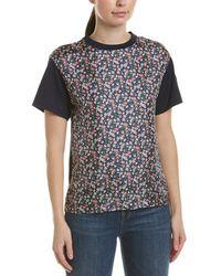 Moncler Floral Silk Top