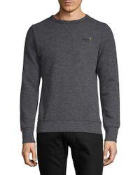 Superdry - Orange Label Crewneck Sweater - Lyst