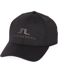 J.Lindeberg - Bane Stretch Mesh Baseball Cap - Lyst 289eac452dd2