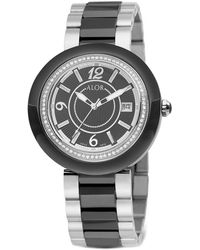 Alor - Women's 43mm Two-tone Diamond Cavo Watch - Lyst