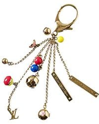 Louis Vuitton - Gold-tone Monogram Bag Charm - Lyst