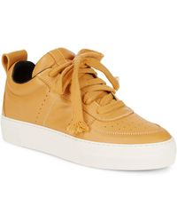 Helmut Lang   Low Top Leather Sneakers   Lyst