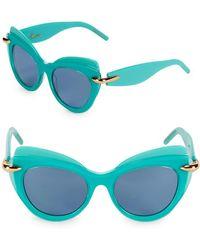 Pomellato - 51mm Cat-eye Sunglasses - Lyst