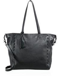 Loeffler Randall - Studded Leather Tote - Lyst