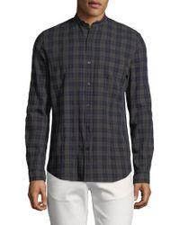 Zadig & Voltaire - Torro Check Coeur Cotton Sportshirt - Lyst