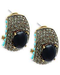 Heidi Daus - Swarovski Crystal Statement Earrings - Lyst