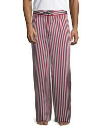 La Perla - Printed Linen Lounge Pants - Lyst