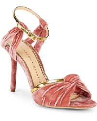 Charlotte Olympia - Broadway Open Metallic Dress Heels - Lyst
