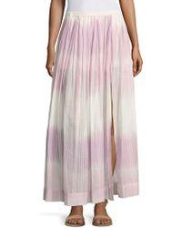 lemlem - Berhan Ombre Skirt - Lyst
