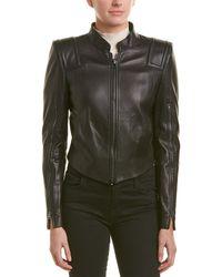 2727c1cc96b Tom Ford Zip Sleeve Leather Moto Jacket