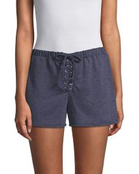 PPLA - Justine Knit Shorts - Lyst