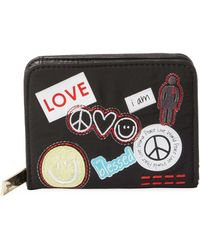 Peace Love World - Patches Zip Around Indexer - Lyst