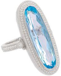 Judith Ripka - Rio Silver 7.98 Ct. Tw. Gemstone Ring - Lyst