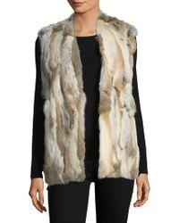 Love Token - Savannah Fur Vest - Lyst