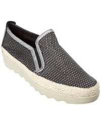 13023dd8089 The Flexx - The Call Me Leather Slip-on Sneaker - Lyst