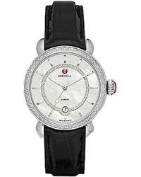 Michele - Women's Csx Elegance Diamond Watch - Lyst