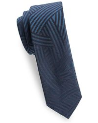 Dries Van Noten - Striped Silk Tie - Lyst