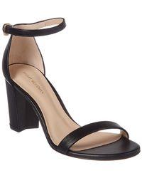 bd5f7b7fd2dd Stuart Weitzman - Nearlynude Leather Sandal - Lyst
