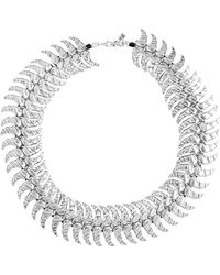 Uno De 50 - Unode50 #creative Winds Silver Leather Necklace - Lyst