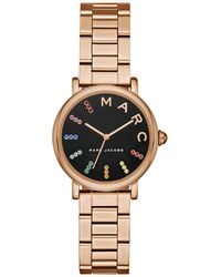Marc Jacobs - Classic Rose Gold-tone Three-hand Watch, 28mm - Lyst
