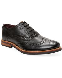 Ben Sherman - Brent Leather Brogues - Lyst
