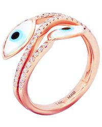 Diana M. Jewels - . Fine Jewelry 14k Rose Gold 0.30 Ct. Tw. Diamond Ring - Lyst