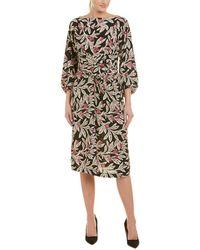 Étoile Isabel Marant - Lisa Floral-print Crepe Dress - Lyst