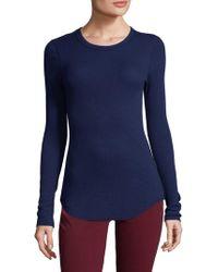 Three Dots - Thermal T-shirt - Lyst