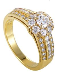 Heritage Van Cleef & Arpels - Van Cleef & Arpels 18k 1.10 Ct. Tw. Diamond Ring - Lyst