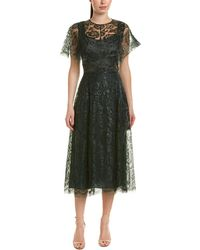 Lela Rose - Midi Dress - Lyst