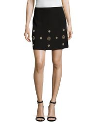 Elorie - Embellished Pencil Skirt - Lyst