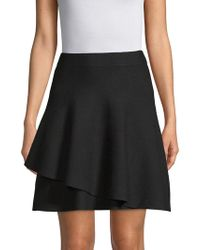 Saks Fifth Avenue - Double Layer Ruffle Skirt - Lyst