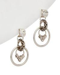 DANNIJO - 10k Plated Drop Earrings - Lyst