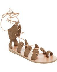 Ancient Greek Sandals - Ftetori Gladiator Sandal - Lyst