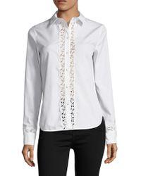 SemSem - Lotus Silk Shirt - Lyst