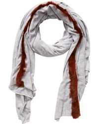 "Donni Charm - Donni Comfy Fierce Long Scarf, 84"" X 70"" - Lyst"