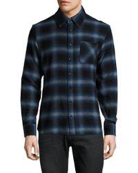 Slate & Stone - Cotton Flannel Sportshirt - Lyst