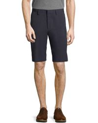 Saks Fifth Avenue | Solid Banded Shorts | Lyst
