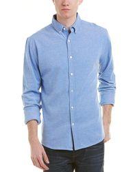 Knowledge Cotton Apparel - Knowledgecotton Pique Woven Shirt - Lyst
