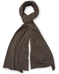 Orlebar Brown - Rolled Cotton Rectangular Scarf - Lyst