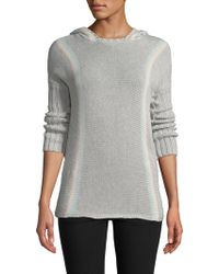 27milesmalibu - Stripe Sweater Hoodie - Lyst