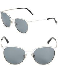 3.1 Phillip Lim - 53mm Clubmaster Sunglasses - Lyst