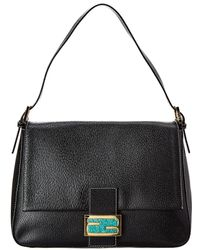 Fendi - Black Leather Mamma Bag - Lyst