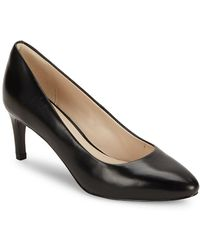 Cole Haan - Helen Grand Leather Court Shoes - Lyst
