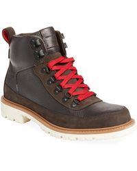 Cole Haan - Keaton Leather Hiking Trainer - Lyst