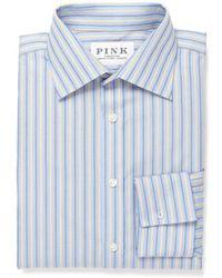 Thomas Pink - Classic Fit Dress Shirt - Lyst